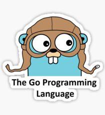Go Programming Language Sticker