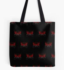 Guns and Roses Red (Pattern 2) Tote Bag