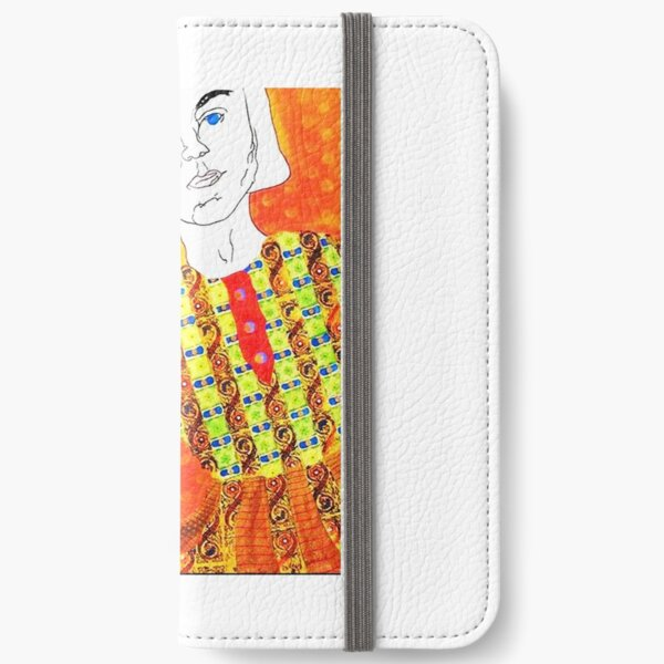 Angry Girl Collection Leggings iPhone Wallet