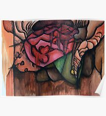 Puzzled Dreams Watercolor Poster