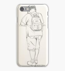 Travel, Life Drawing, Figure Sketch iPhone Case/Skin