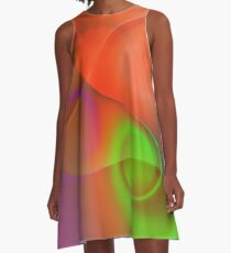 the sound of colors -8- A-Linien Kleid