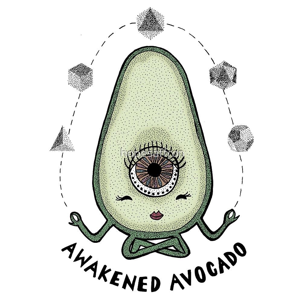 Awakened Avocado by hopesaffron