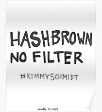 Hashbrown no filter Poster