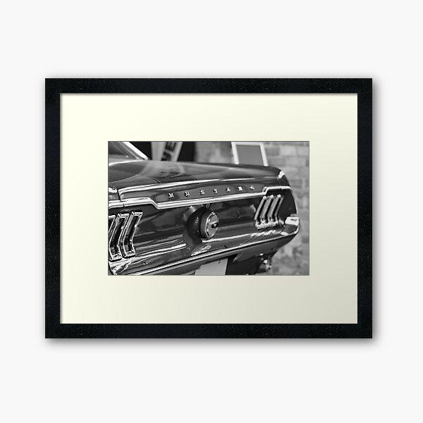 Ford Mustang GT Framed Art Print