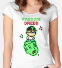 Freddie Dredd - Music Pixels Women's Fitted Scoop T-Shirt