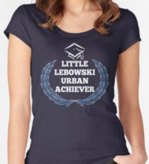 Little Lebowski Urban Achievers Women's Fitted Scoop T-Shirt