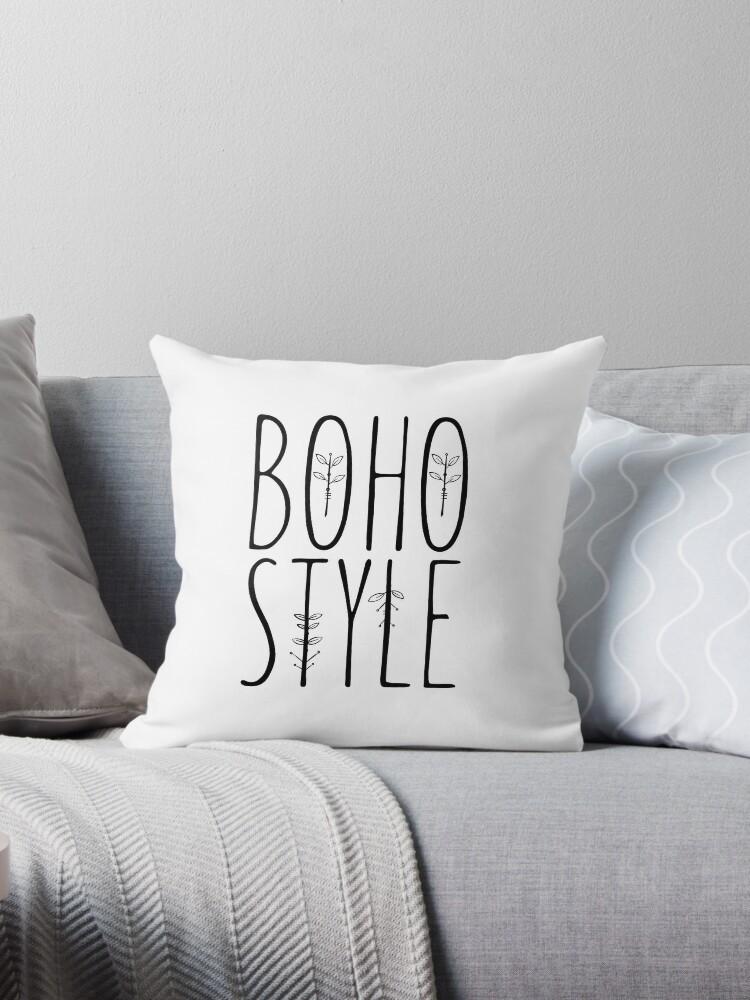 Bohemian - Boho Style - Typography by Sago-Design