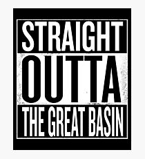 Straight Outta The Great Basin Photographic Print