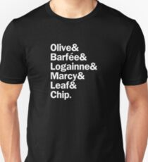 The 25th Annual Putnam County Spelling Bee Characters   White T-Shirt