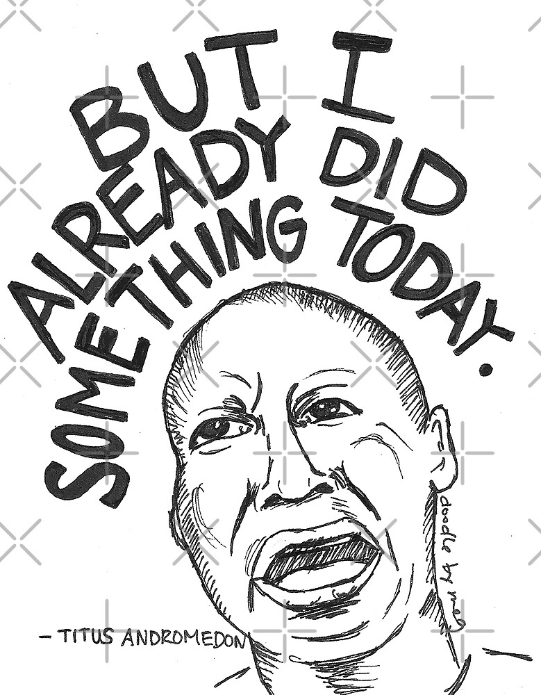 I already did something today by doodlebymeg