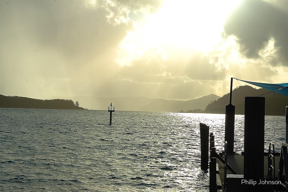 Dawns Landing - Whitsunday Islands, Queensland Australia by Philip Johnson