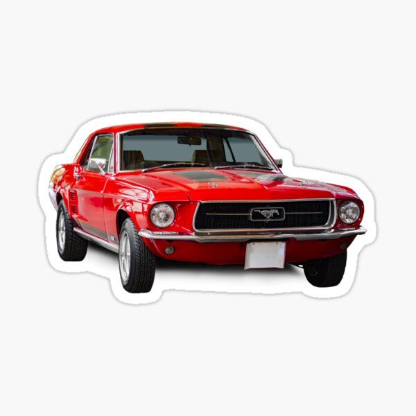 Ford Mustang GT Sticker