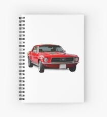 Ford Mustang GT Spiral Notebook
