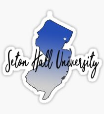 NJ SHU Sticker