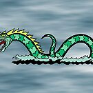 Sea Serpent by Richard Fay