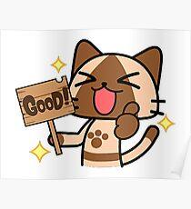 Good Cat  Poster