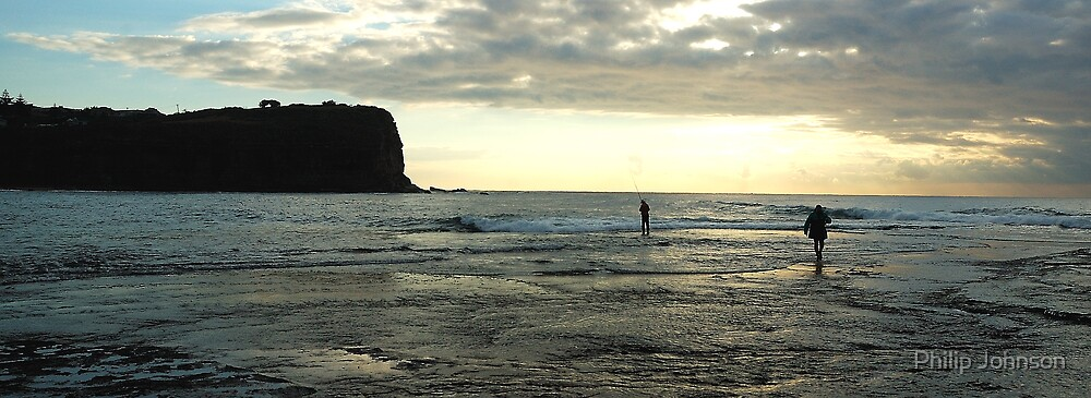 The Shallows - Mona Vale Beach, Sydney Australia by Philip Johnson