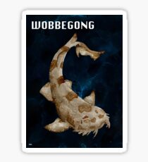 Wobbegong Print Sticker
