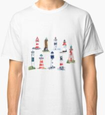 Swedish Lighthouses Classic T-Shirt