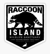 Raccoon Island Wildlife Sanctuary Sticker