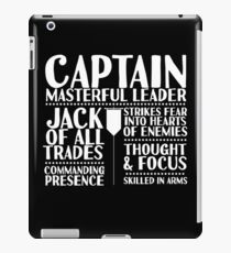 Captain - LoTRO iPad Case/Skin