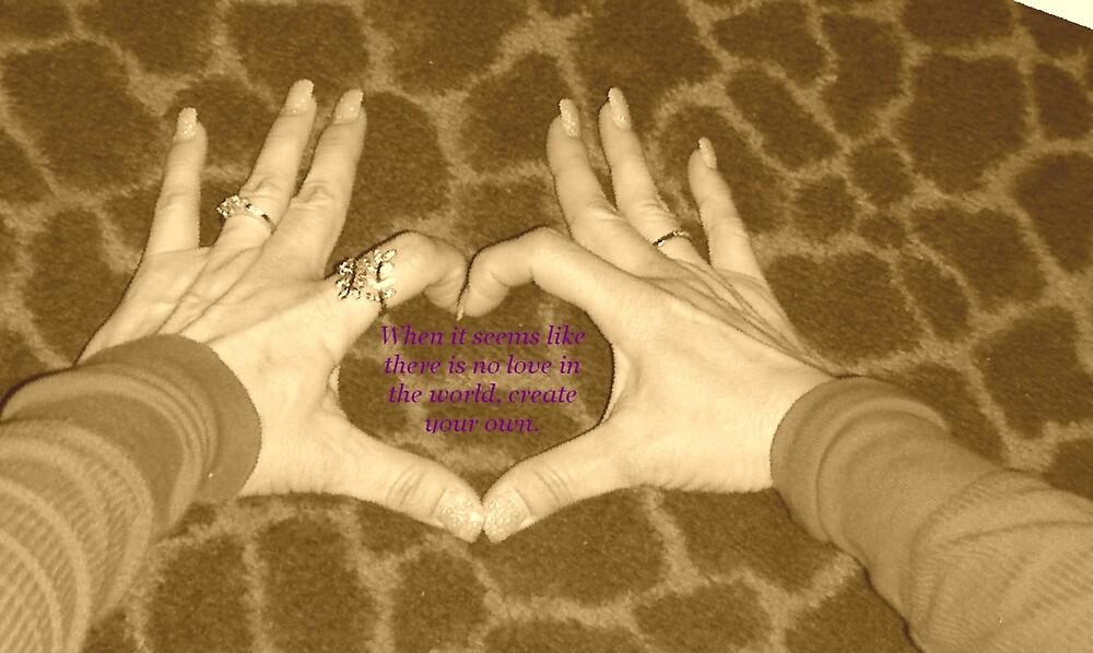 Create some love. by DeirdreH