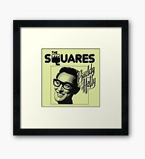 The Squares Buddy Holly Framed Print