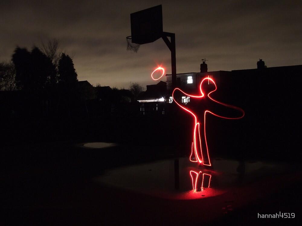 man playing basketball by hannah4519