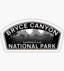 BRYCE CANYON NATIONAL PARK UTAH HOODOOS SUNRISE POINT 3 Sticker