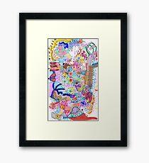 OPEN MIND/ED. Framed Print