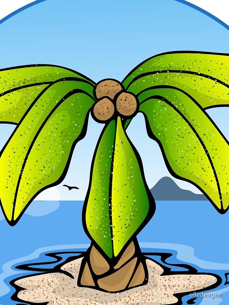 Tropical Palm by elledeegee