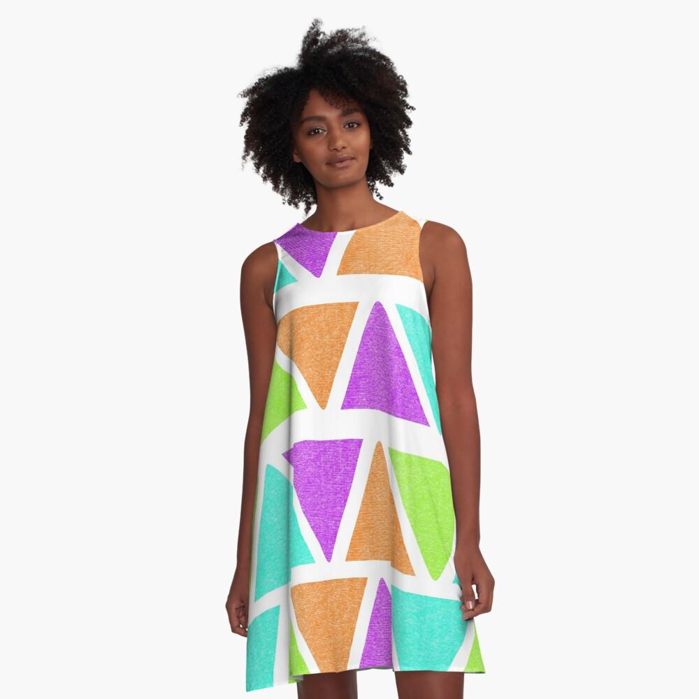 Summer Vibes A-Line Dress