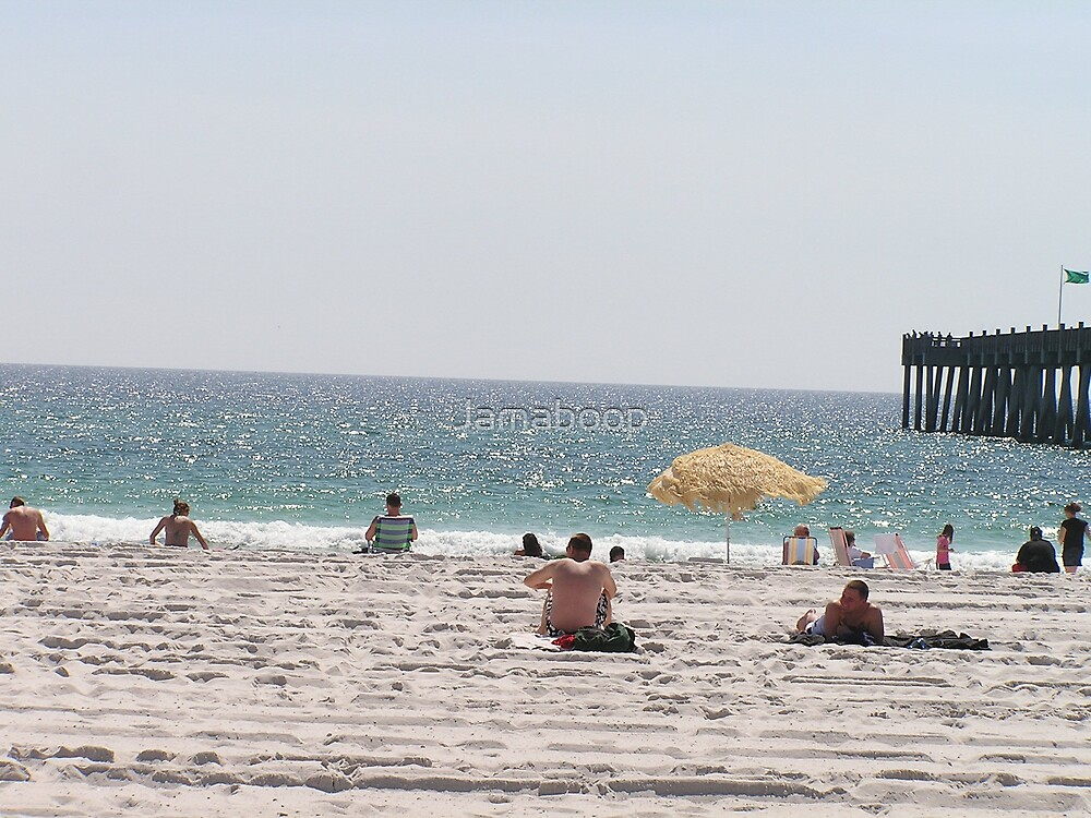 Pensacola beach by Jamaboop