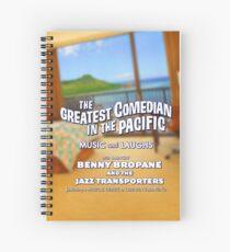 Benny Bropane Spiral Notebook