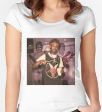 Fredo Santana  Women's Fitted Scoop T-Shirt