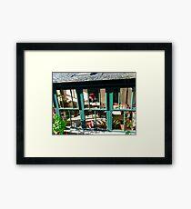 Window at Corcgreggan's Mill, Donegal, Ireland Framed Print