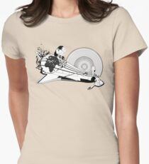 Loud Space Womens Fitted T-Shirt