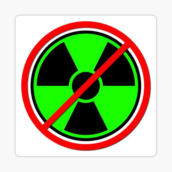 Against Atom Sticker