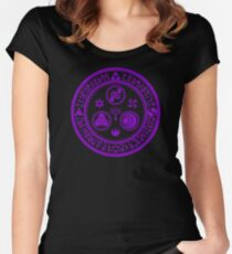 Hero's Mark (Violet) Women's Fitted Scoop T-Shirt