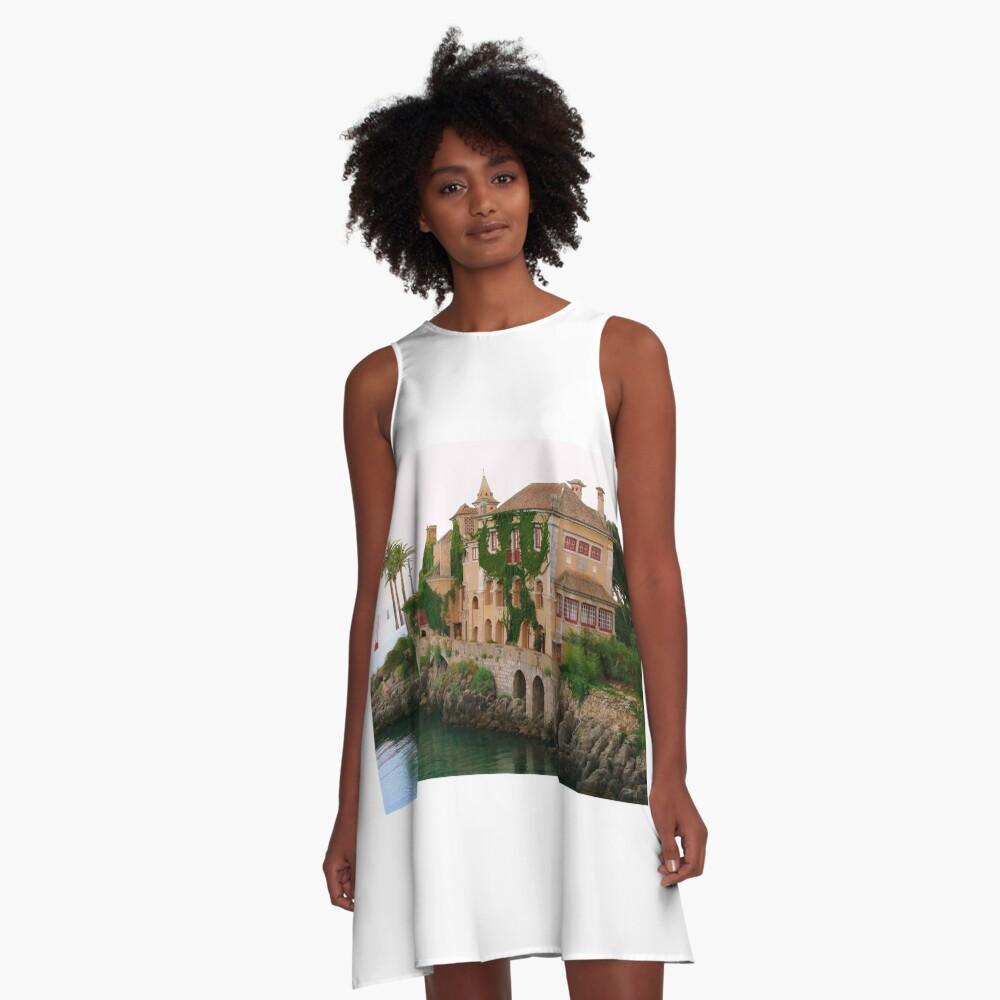 Casa de Sta. Maria  A-Line Dress Front