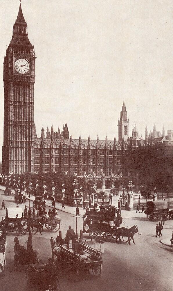 Victorian London#3 by johnfbrunton