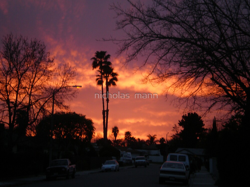 Sky's Goodnight by nicholas  mann