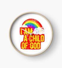 Ich bin ein Kind Gottes Jesus liebt mich LDS Mormon Graphic T Shirt Taufe Uhr