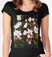 FloralFantasia 23 Women's Fitted Scoop T-Shirt