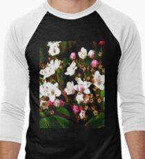 FloralFantasia 23 Men's Baseball ¾ T-Shirt