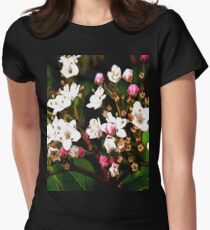 FloralFantasia 23 Women's Fitted T-Shirt