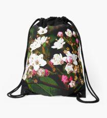 FloralFantasia 23 Drawstring Bag
