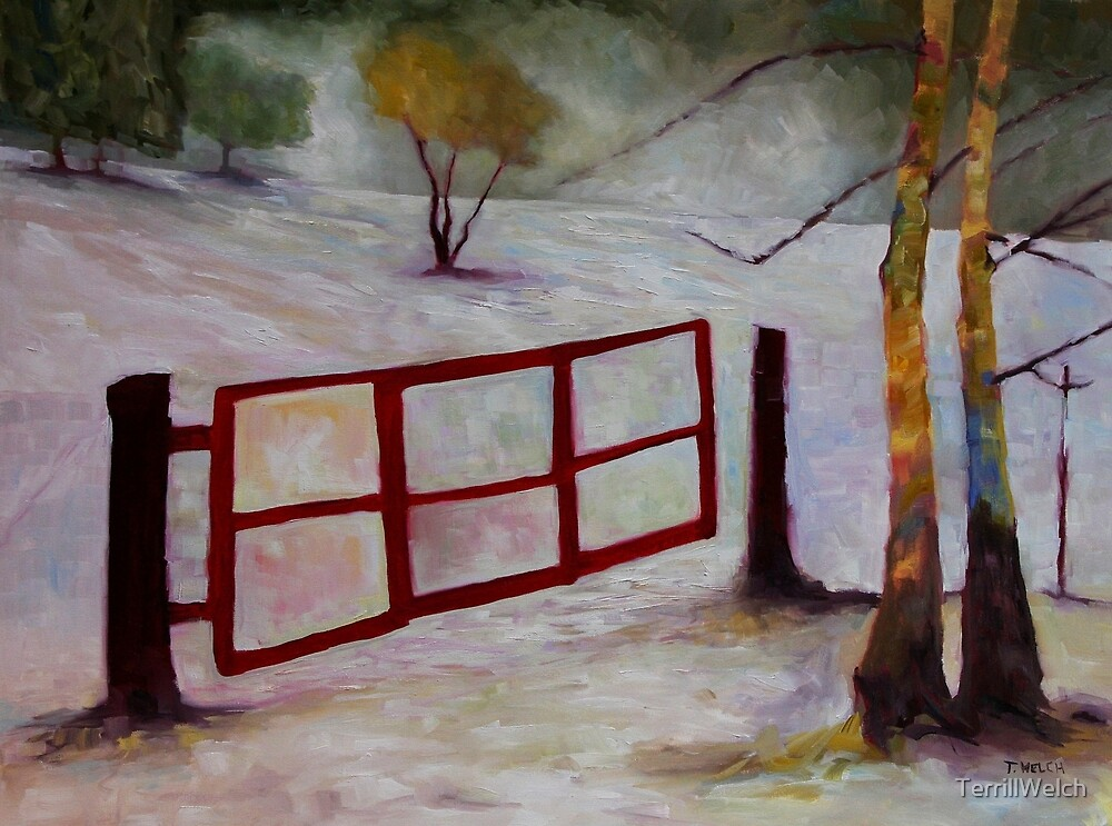 Red Gate  by TerrillWelch