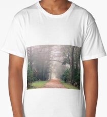 Fog in Red Hill Long T-Shirt